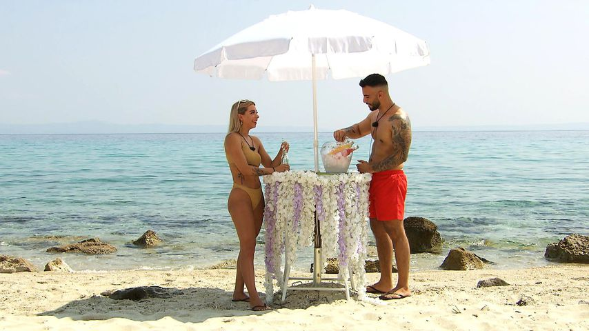 "Walentina und Ferhat bei ""Ex on the Beach"""