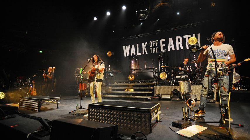 Walk Off The Earth bei einem Auftritt in London