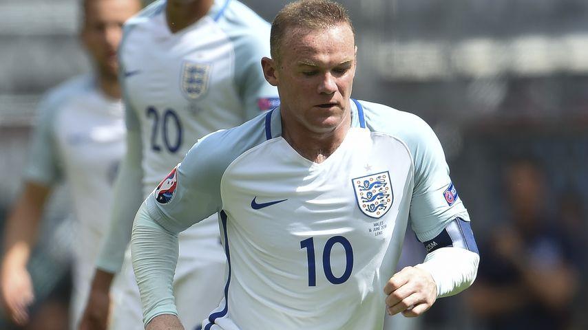 Wayne Rooney beim EM-Spiel Wales gegen England