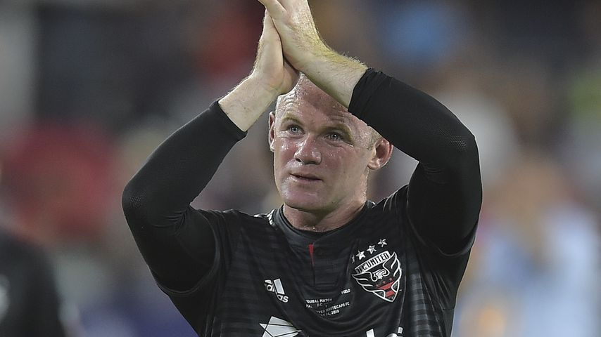 Wayne Rooney beim Fußballspiel D.C. United gegen Vancouver Whitecaps