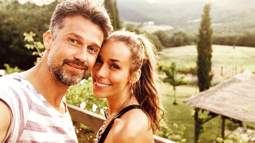 Wayne und Annemarie Carpendale im Juni 2019 in der Toskana
