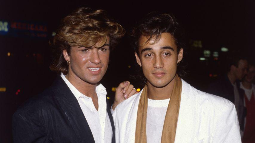 George Michael und Andrew Ridgeley von Wham!