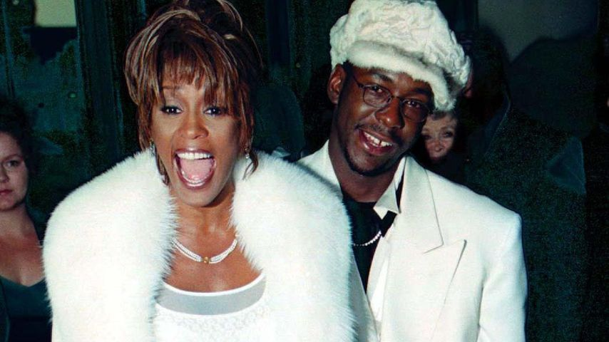 Whitney Houston, Bobby Brown und Bobbi Kristina 1998