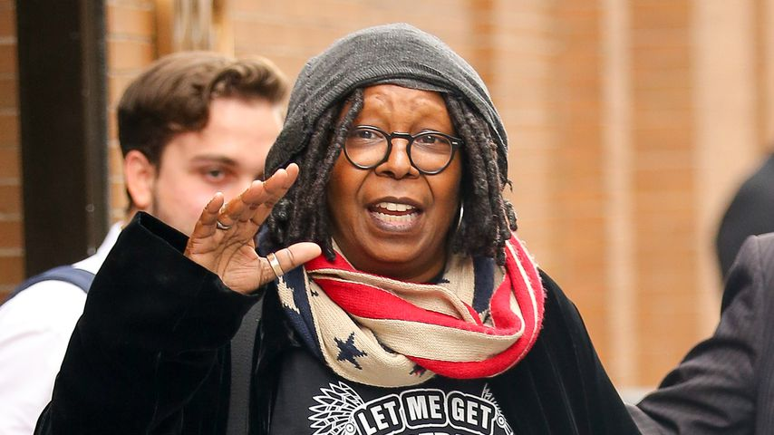 Whoopi Goldberg in New York
