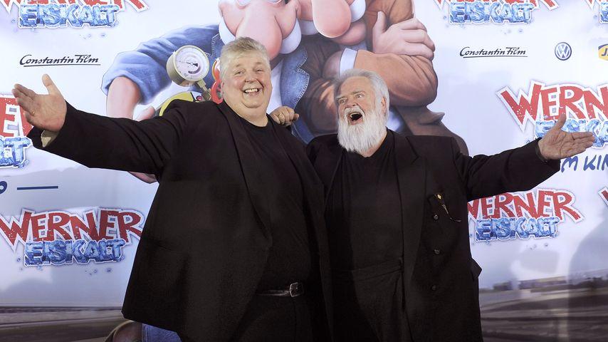 Wolfgang Schwalm und Wilfried Gliem, Volksmusik-Duo