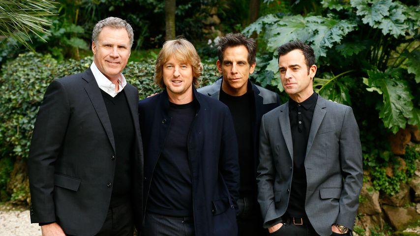 Will Ferrell, Owen Wilson, Ben Stiller und Justin Theroux