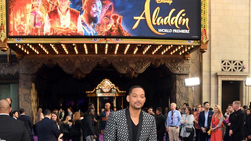 """Will Smith bei der Weltpremiere von """"Aladdin"""""""