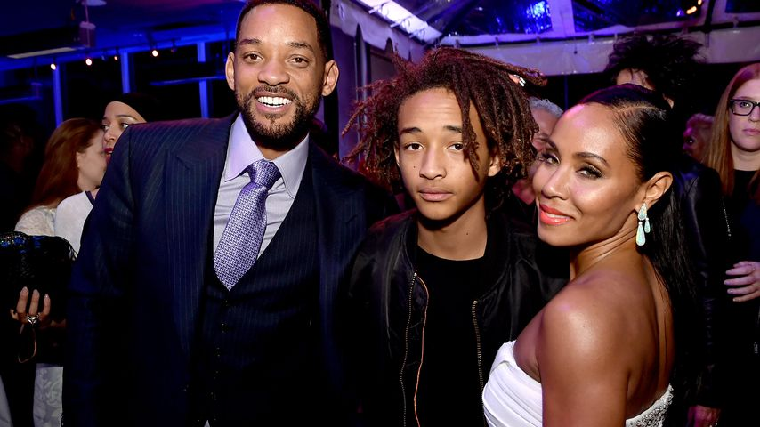 Will Smith, Jaden Smith und Jada Pinkett-Smith in Los Angeles