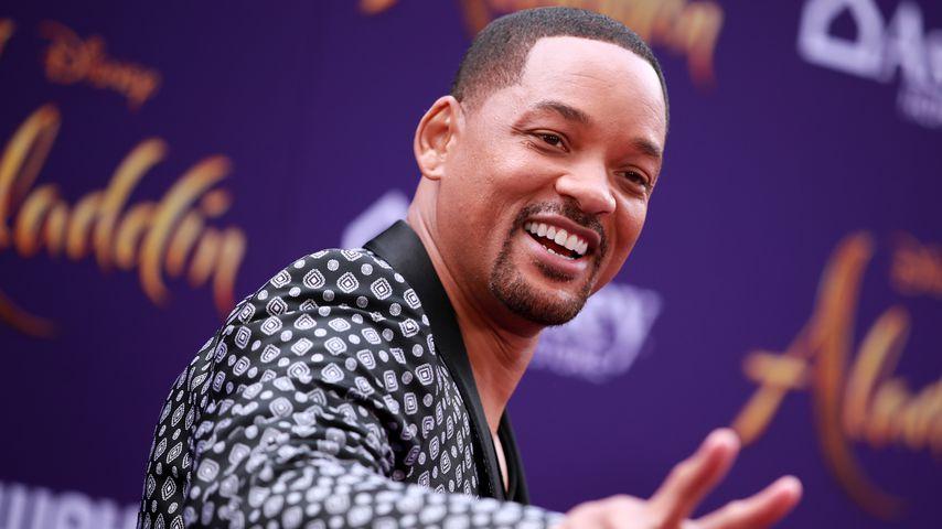 """Will Smith bei der """"Aladdin""""-Premiere in Hollywood im Mai 2019"""