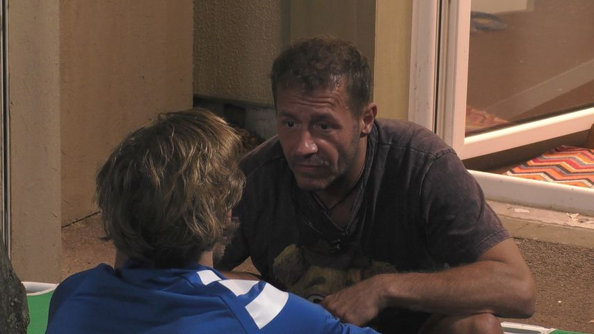 """Willi Herren und Jens Hilbert bei """"Promi Big Brother"""""""