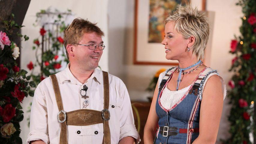 """Ziegenbauer Willi und """"Bauer sucht Frau""""-Moderatorin Inka Bause"""