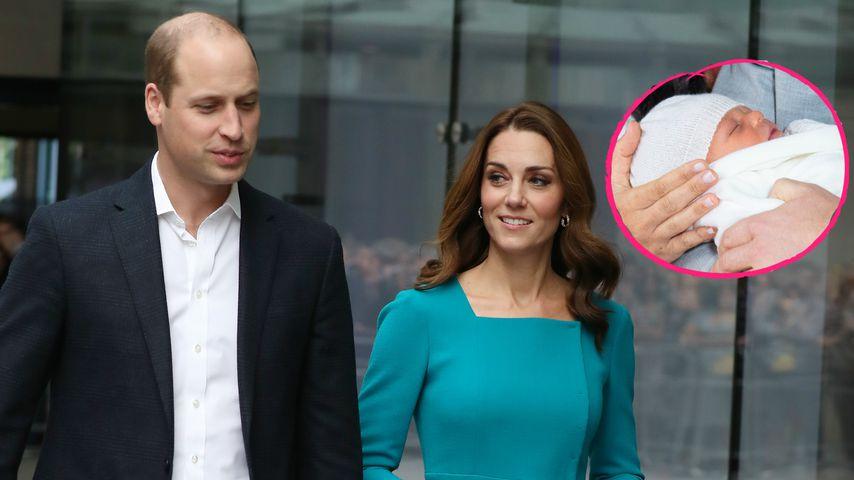 Ohne Kids: William & Kate haben endlich Archie getroffen