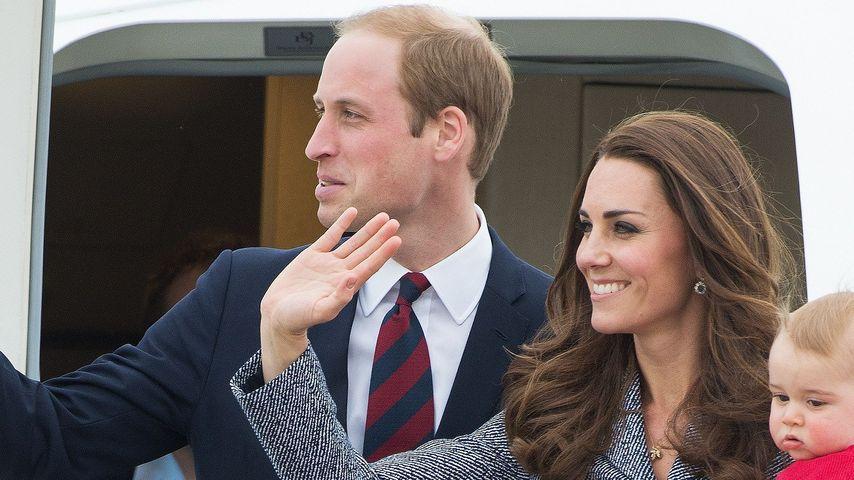 Royals on Tour: Das ist Williams & Kates Gefolge