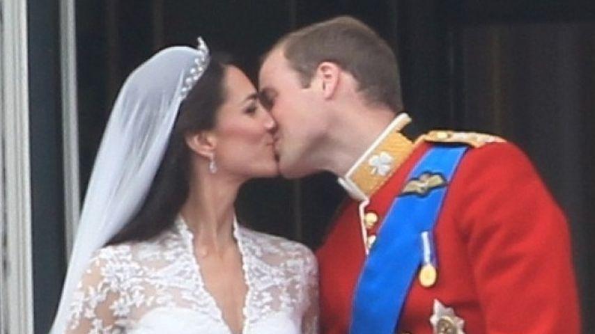 Kate & William feiern heute ihren 1. Hochzeitstag!