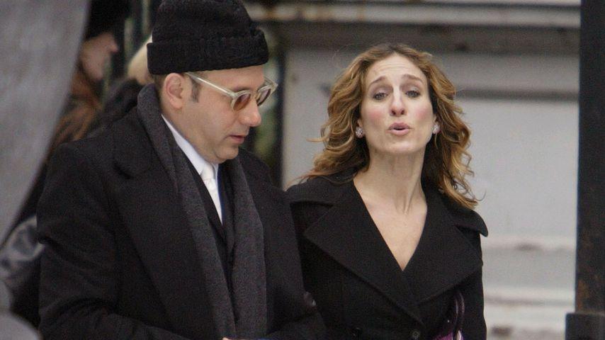 So eng waren Willie Garson (†) und Co-Star Sarah befreundet
