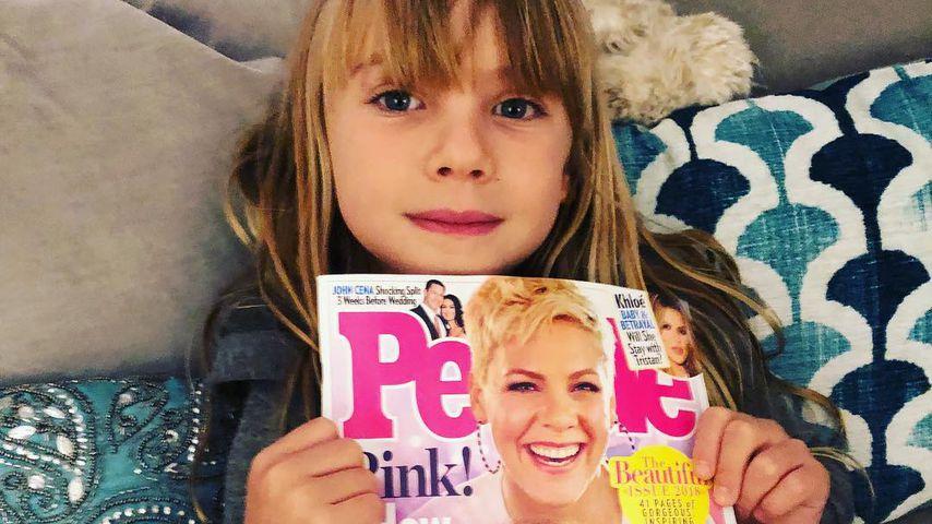 Willow Sage Hart, die kleine Tochter von Pink