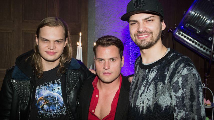Wilson Gonzalez Ochsenknecht, Rocco Stark und Jimi Blue Ochsenknecht