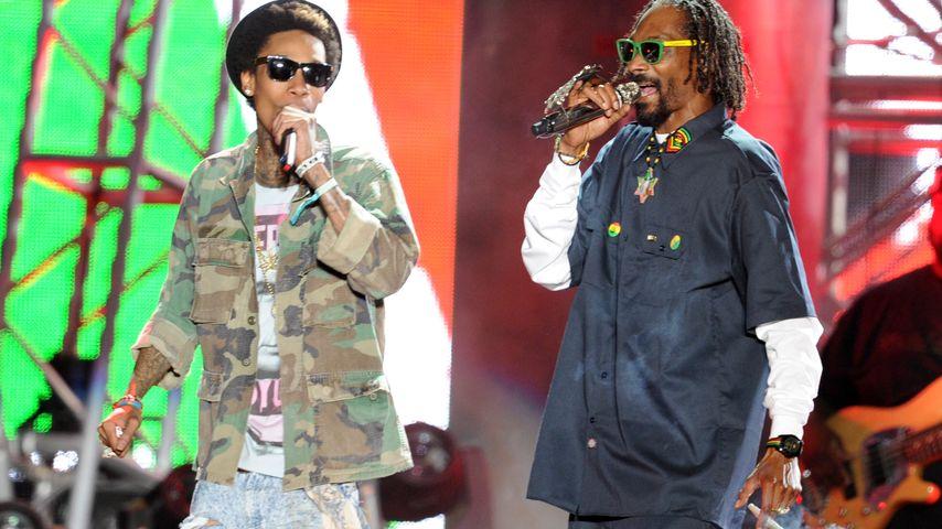 """Wiz Khalifa und Snoop Dogg beim """"Coachella-Festival 2012"""""""