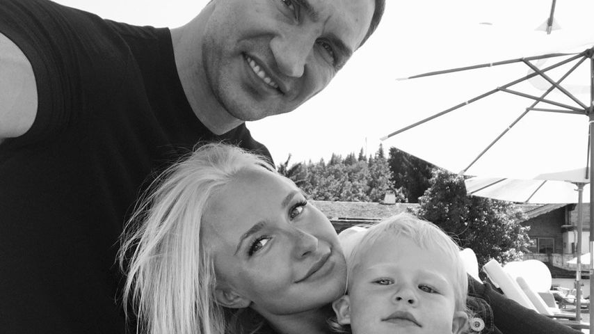 Wladimir Klitschko, Hayden Panettiere und ihre Tochter Kaya