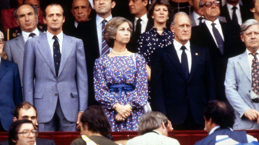 Helmut Schmidt, Fußball-WM, Königin Sofia und König Juan Carlos