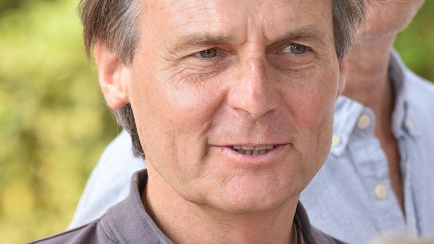 Wolfgang Bahro bei der Jahres-Pressekonferenz in Berlin, August 2019