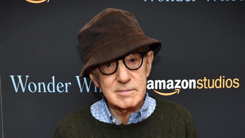 """Woody Allen bei einem Screening von """"Wonder Wheel"""""""