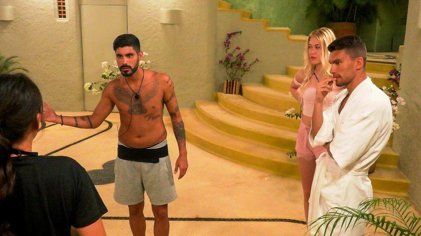 """Yasin, Luis und Omar bei """"Paradise Hotel"""""""