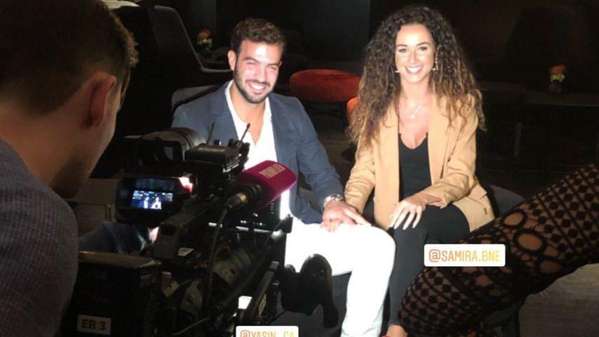 Yasin und Samira im Promiflash-Interview in Berlin