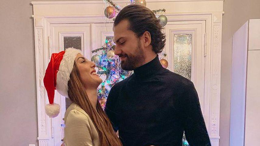 Yeliz Koc und Jimi Blue Ochsenknecht, Weihnachten 2020