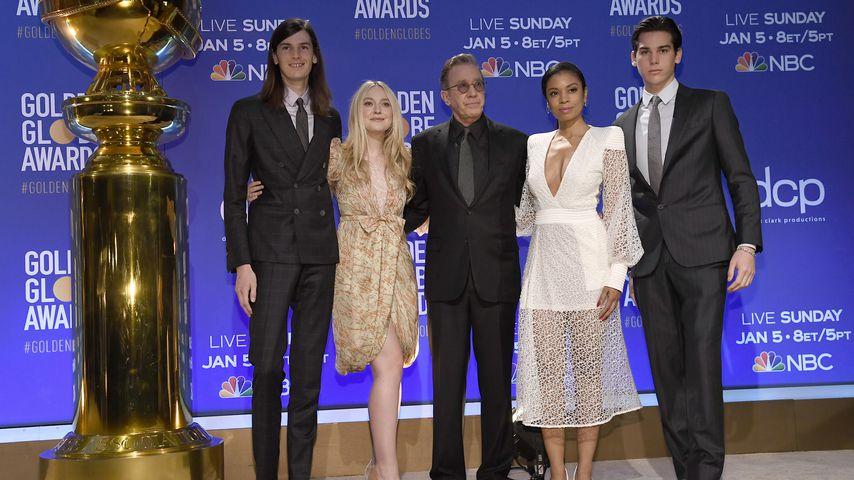 Dylan Brosnan, Dakota Fanning, Tim Allen, Susan Kelechi Watson und Paris Brosnan
