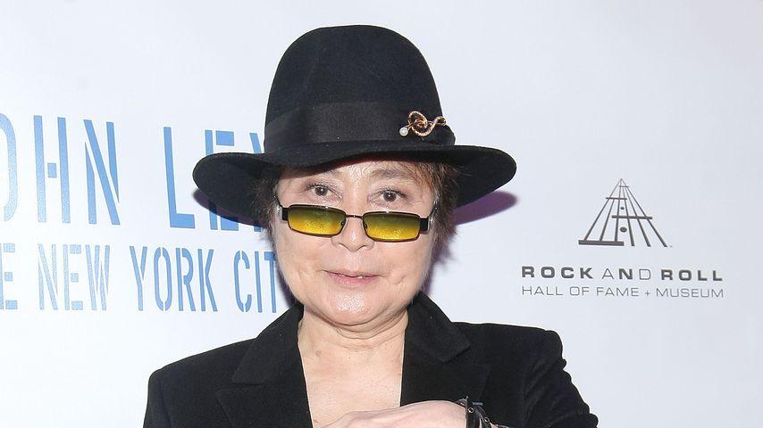 Yoko Ono im Mai 2009