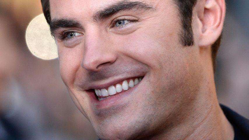 "Zac Efron, bekannt aus ""High School Musical"""