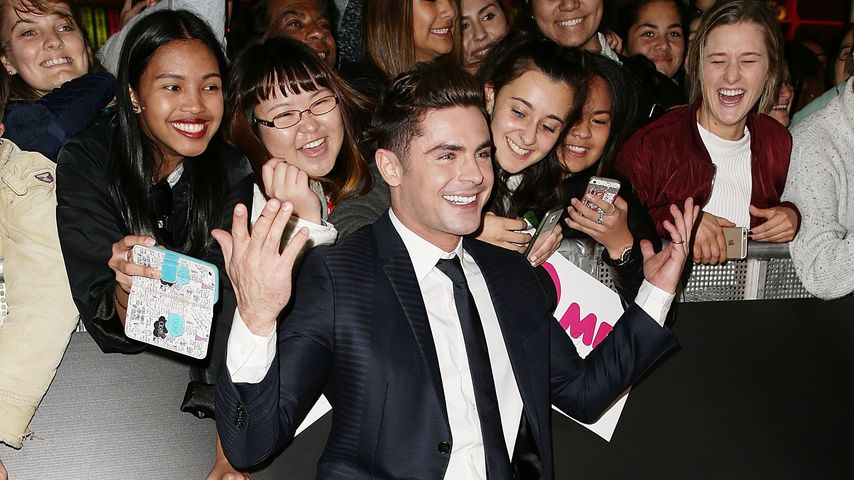 "Zac Efron bei der ""Mike and Dave need Wedding Dates""-Premiere"