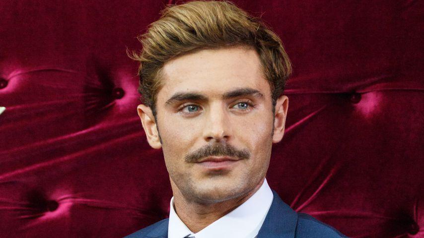 Hot or not? Zac Efron trägt plötzlich Oberlippenbärtchen!