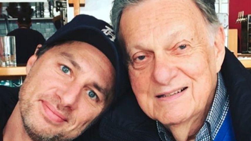 """""""Scrubs""""-Hauptdarsteller Zach Braff trauert um seinen Vater"""