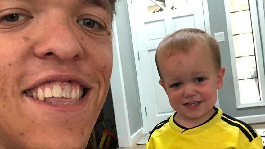 Zach Roloff mit seinem Sohn Jackson
