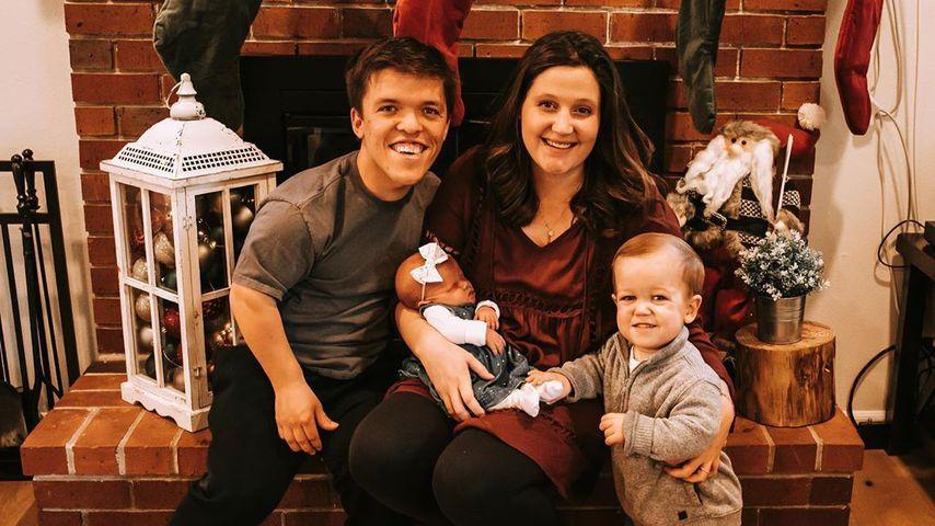 Zach und Tori Roloff mit ihren beiden Kindern