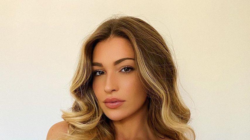 Zara McDermott im April 2020