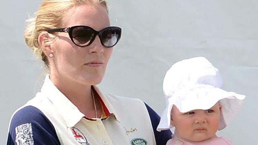 Zara Phillips mit ihrer Tochter Mia Grace