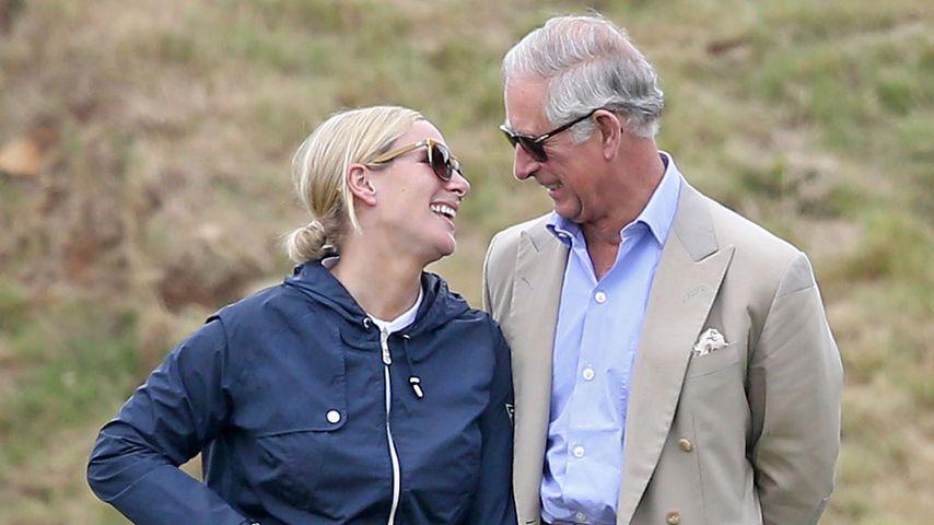 Zara Tindall und Prinz Charles beim Polo, Juni 2015