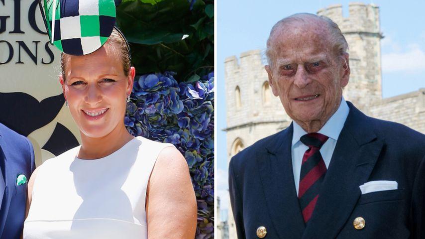 Wie Eugenie! Zara Tindall ehrt Prinz Philip mit Babynamen