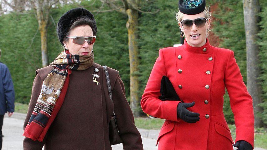 Im Lockdown: Trifft sich Zara Tindall mit Prinzessin Anne?
