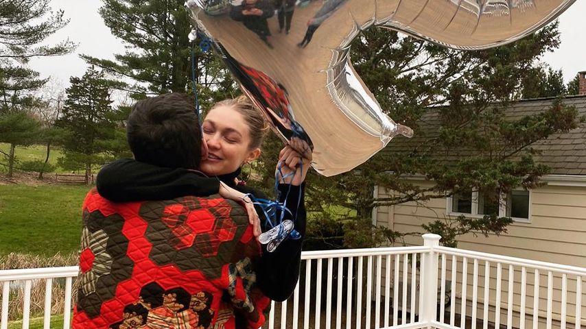 Zayn Malik und Gigi Hadid an ihrem 25. Geburtstag