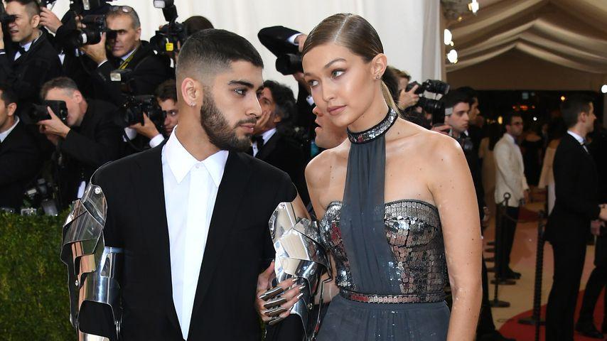 Seltener Liebes-Moment: Hier strahlen Gigi Hadid und Zayn!