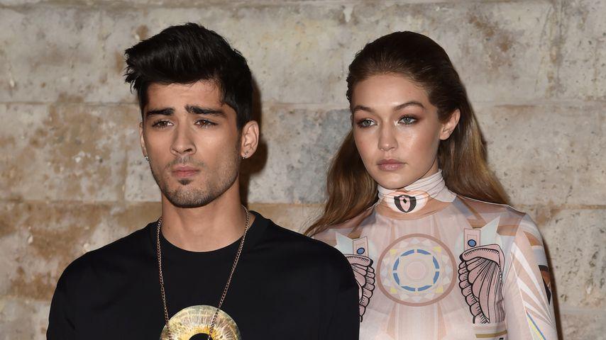 Zayn Malik und Gigi Hadid bei der Paris Fashion Week