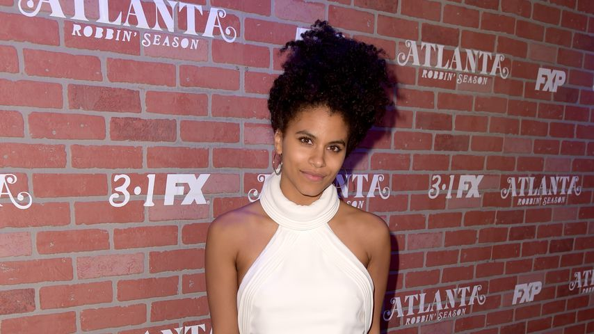 Zazie Beetz in Los Angeles, 2018