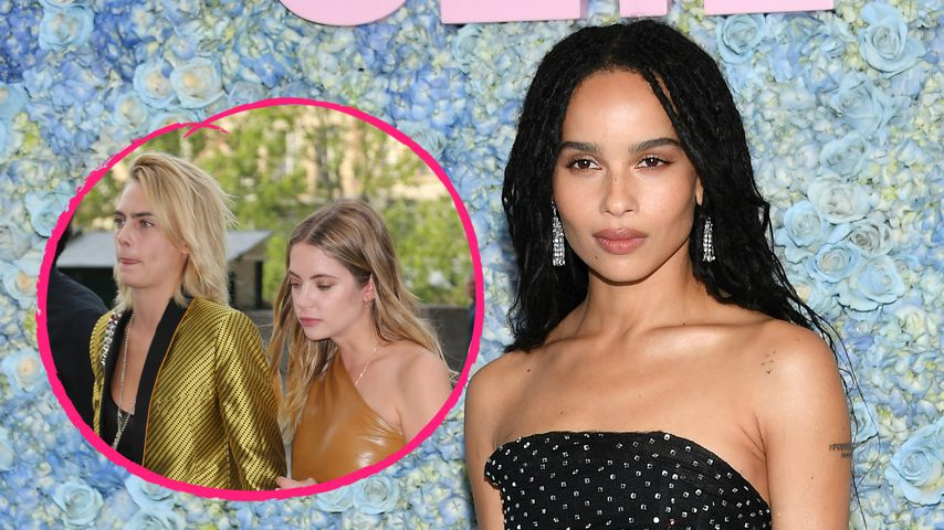 Cara, Ashley & Co: Stars bei Zoë Kravitz' Pre-Wedding-Dinner