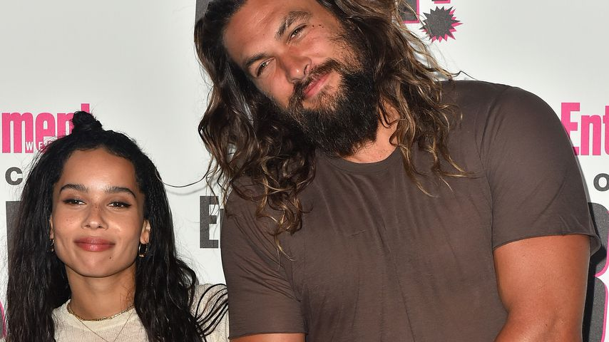 Zoe Kravitz und Jason Momoa im Juli 2018