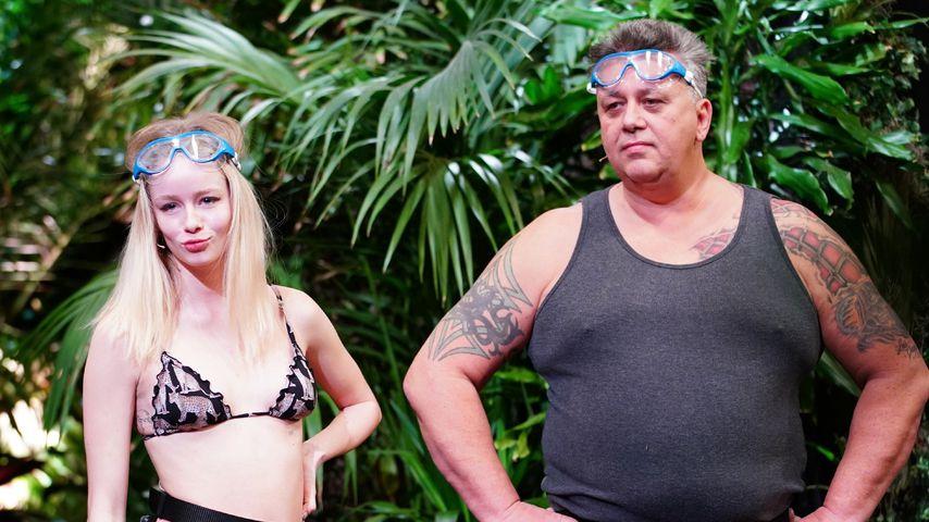 Zoe Saip und Frank Fussbroich, Dschungelshow-Kandidaten
