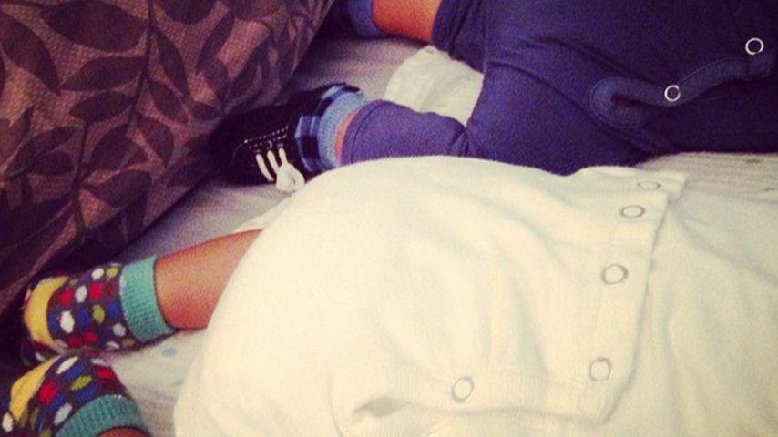 Süße Zwillinge: Zoe Saldana postet 1. Baby-Foto!